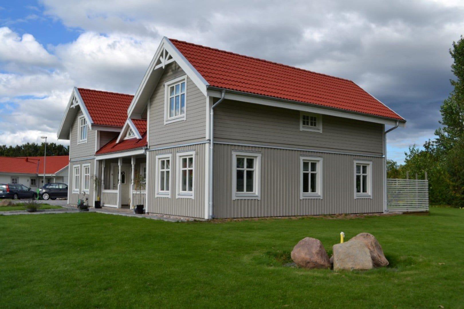 Kundenhaus in Schweden